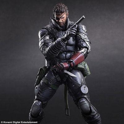 Square Enix Play Arts Kai Metal Gear Solid Venom Snake PVC Action Figure Toy