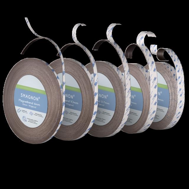 Meterware Magnetfolie selbstklebend roh braun 1,5mm x  62cm x 100cm