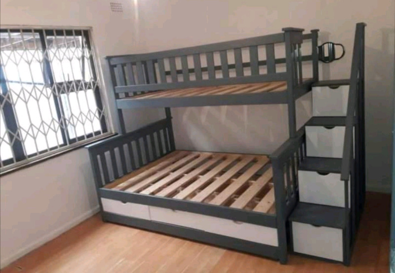 Pine wood bunk beds on sale