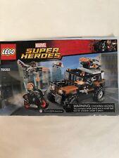 T4 Lego Super Heroes Marvel Crossbones' Hazard Heist 76050