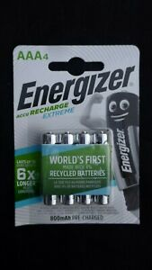 Energizer-ACCU-Recharge-Extreme-800-mAh-Rechargable-AAA-Battery-x4-Pack