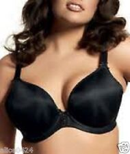 cfef62d8e5 ELOMI 36E Molded Underwire Foam Smoothing Push-Up Plunge Bra 1221 Black NWT