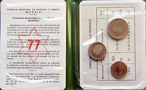 JUAN-CARLOS-I-CARTERITA-FNMT-PRUEBAS-NUMISMATICAS-3-MONEDAS-1975-77