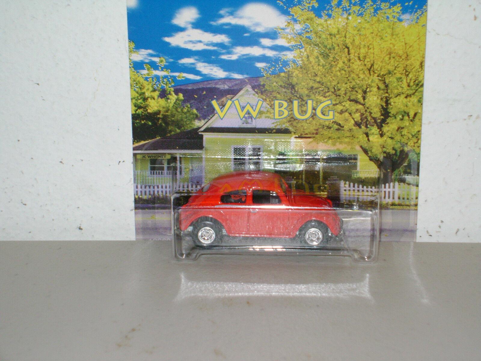 HOT WHEEL `97 JC WHITNEY PROMO VW BUG  MOC  NICE