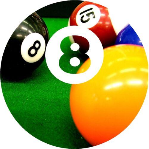 Eight ball  decal  Sticker