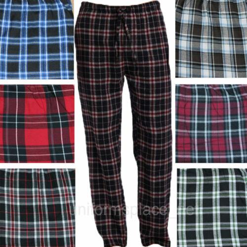 XXXLarge Da Uomo in tessuto check Lounge Pants Pajama Bottoms Sleepwear Pigiami dimensioni