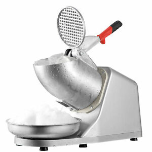 NEW-Electric-Ice-Crusher-Shaver-Machine-Snow-Cone-Maker-Shaved-Ice-143-lbs