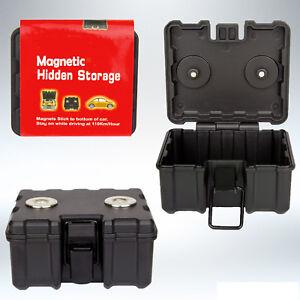 Magnetisch-Sicher-Box-Aufbewahrung-Geheimfach-Schluessel-Geld-Halter-Versteckte
