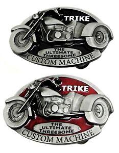 Trike /'Custom Machine/' Belt Buckle Black