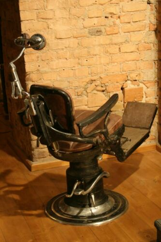 Vintage LUX dental chair of the 1930s.