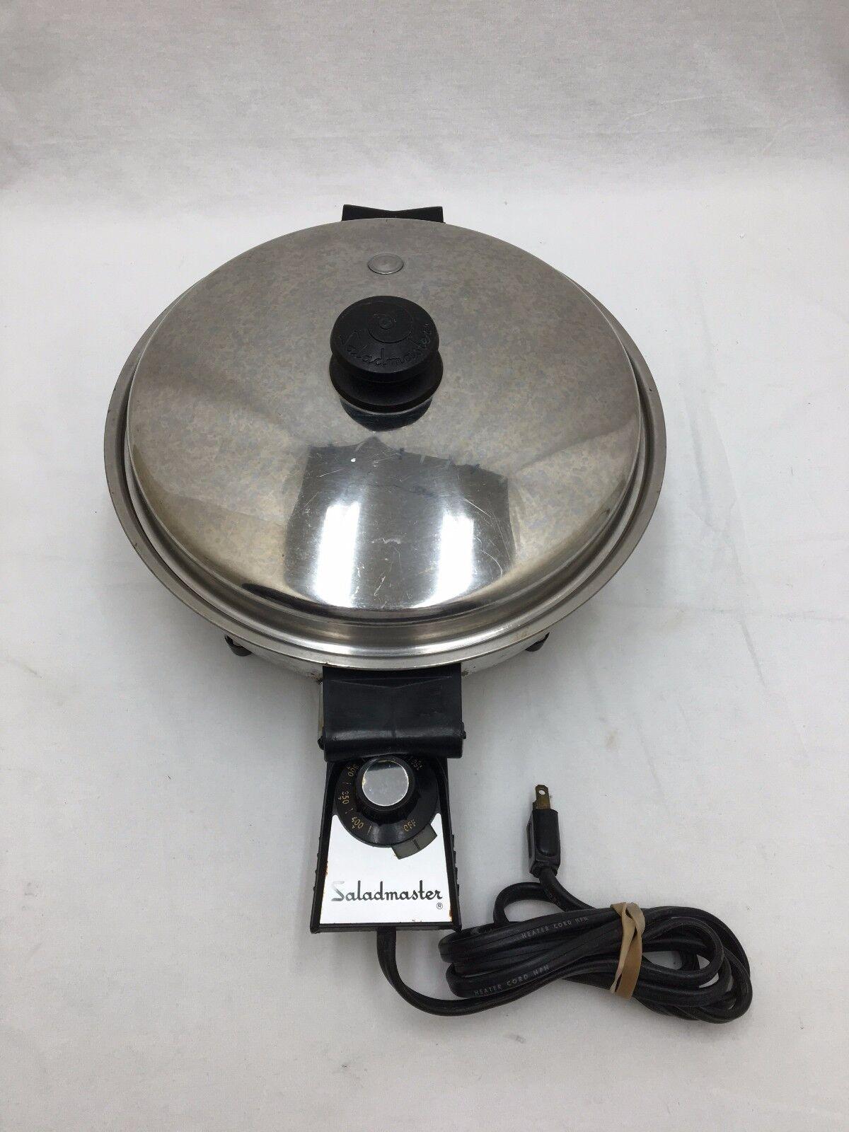 Saladmaster 17815 11  électrique Poêle Poêle en acier inoxydable 900 W