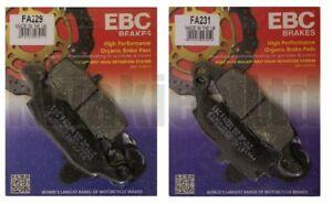 Full Set  EBC FA229 /& FA231 Front Brake pads KAWASAKI Z Z750 //S 2004 to 2007