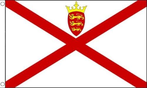 Jersey 5ft x 3ft Flag Banner 90cm x 150cm