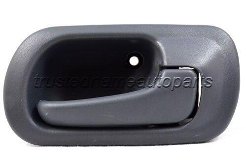fits Honda Sedan Inside Interior Door Handle Front Right Passenger Side Gray