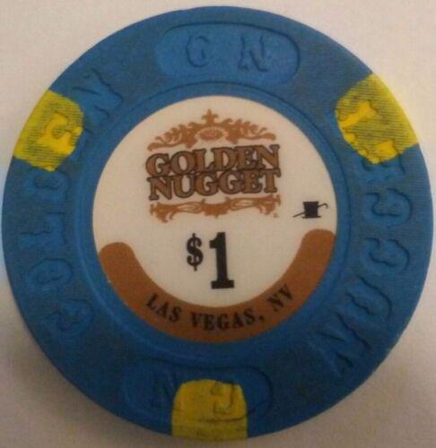 NV Golden Nugget $1 CASINO POKER CHIP downtown Fremont st. Las Vegas