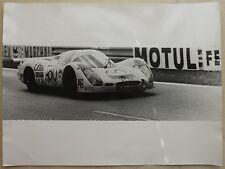 Porsche 908L3.0 1972 Le Mans Photo Press no book buch brochure prospekt depliant