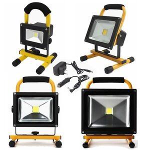 10w 20w 30w 50w 100w 150w akku strahler led handlampe arbeitsleuchte fluter ip65 ebay. Black Bedroom Furniture Sets. Home Design Ideas