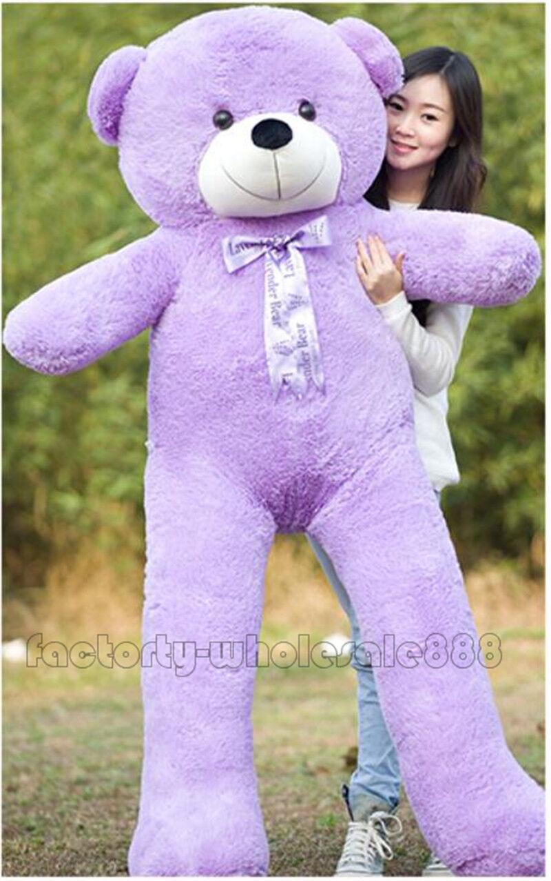 72in.  viola Teddy Bear Giant Huge Big Stuffed Animal Plush Soft 180cm+EMS SHIP