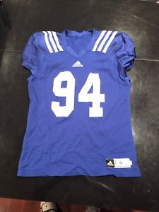 Details about Game Worn Used UCLA Bruins Football Practice Jersey adidas #94 Size XL