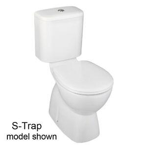 NEW-Stylus-Prima-II-CC-Toilet-Suite-White-by-Caroma-S-or-P-Trap