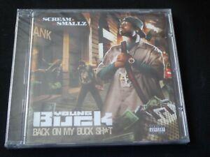 Young-Buck-Back-On-My-Buck-Shit-SEALED-NEW-CD-2009-LIL-WAYNE-PLIES-YO-GOTTI