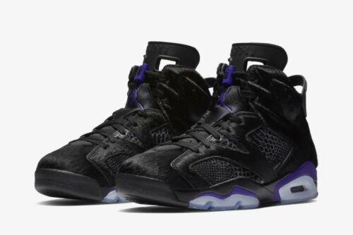 Nike X Social Jordan 6 NRG-Status Air Size UK 7-Negro Cat-confirmado!!!