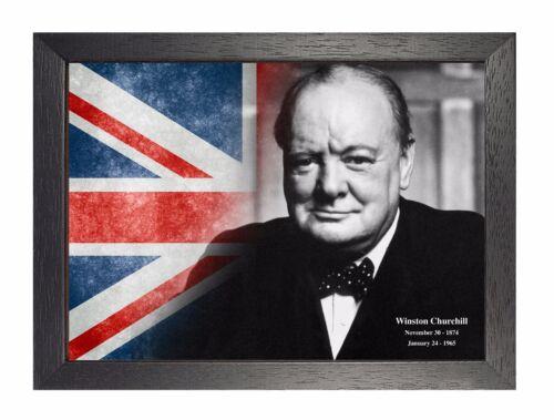 Winston Churchill 11 United Kingdom Prime Minister Poster British Icon Picture