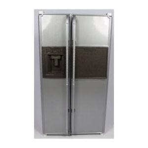 Sa-maison De Poupée Df1006 Américain, Réfrigérateur Deluxe 1:12