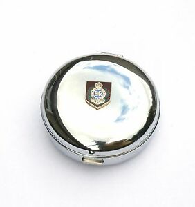 Royal Engineers Private Shield Travel Chrome Alarm Clock Ideal Army Gift BK7