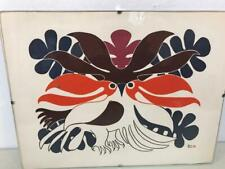 NEW Audacious Owl art print by Inuit artist Kenojuak Ashevak  Matted 11x14