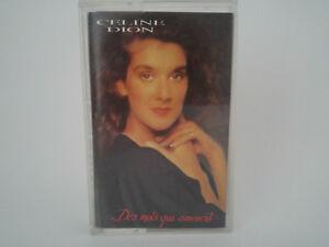 Celine-Dion-Des-Mots-Qui-Sonnent-Columbia-1991-Cassette-Audio-K7-Tape