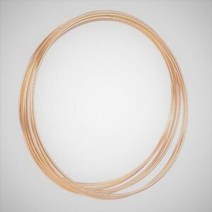 2-x-9-034-Strong-Metal-Copper-Dreamcatcher-Macrame-Craft-Hoop-Ring-amp-Free-Cord