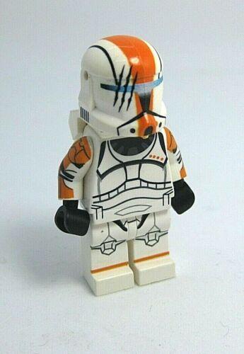 CAC Lego COMMANDO HOPE Orange Clone Minifigure Custom Full Body Printing
