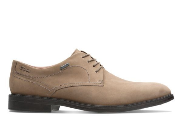 Clarks Chilver Olive Walk GORE-TEX® Mens Shoes Olive Chilver Nubuck Waterproof UK8-11 RRP f86b8f