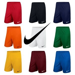 Nike-Garcons-Football-Short-Park-Kids-Sports-Training-Gym-Course-Courte