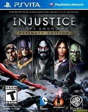 Injustice: Gods Among Us -- Ultimate Edition (Sony PlayStation Vita, 2013)