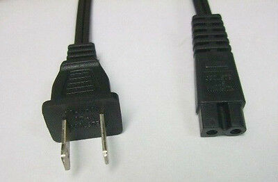 Power Cable Cord Wall Plug for Brother HE240 PE540D VM5100 VQ2400 Sewing Machine