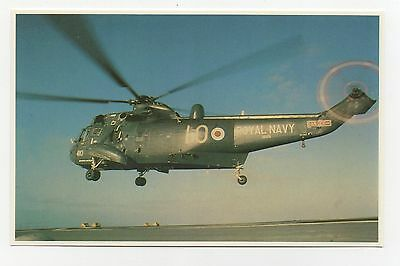#59. a Sea King Helicopter Approaches The L  - Falklands Taskforce 1982 Postcard