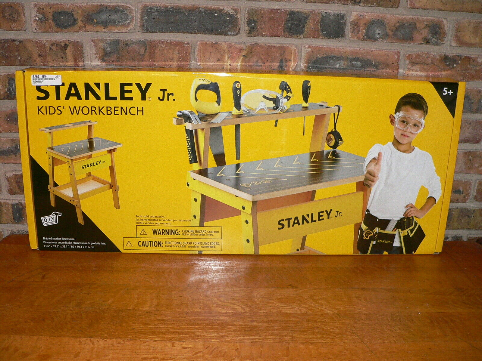 Stanley Jr. Kid's DIY Workbench  WB002-SYComplete, New in Sealed Box