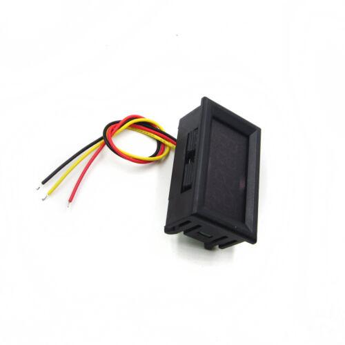 """4 Digit 0.36/"""" Digital Voltmeter 0-33.00V Three wires Voltage Meter Display Red"""