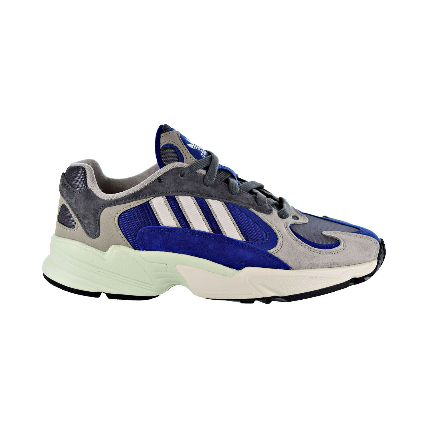 Adidas Yung 1 Men's shoes Sesame Grey Chalk White AQ0902