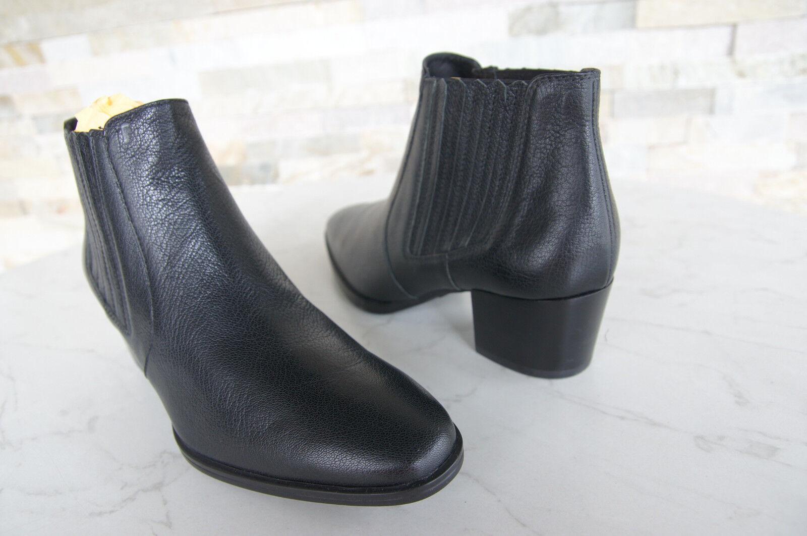 Tods Tod´s Stiefeletten Gr 37 schwarz Ankle Booties Stiefel Schuhe schwarz 37 neu ee6857