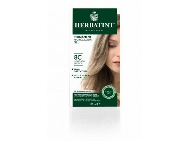 Herbatint Natural Hair Colour Light Ash Blonde 8c 150ml For Online Ebay