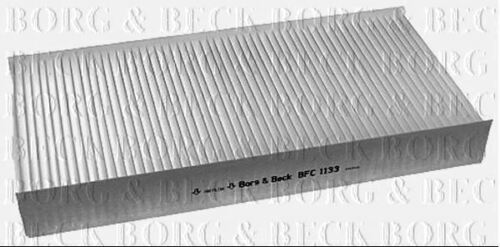 BORG /& BECK CABIN POLLEN FILTER FOR PEUGEOT BOX EXPERT 1.6 66KW