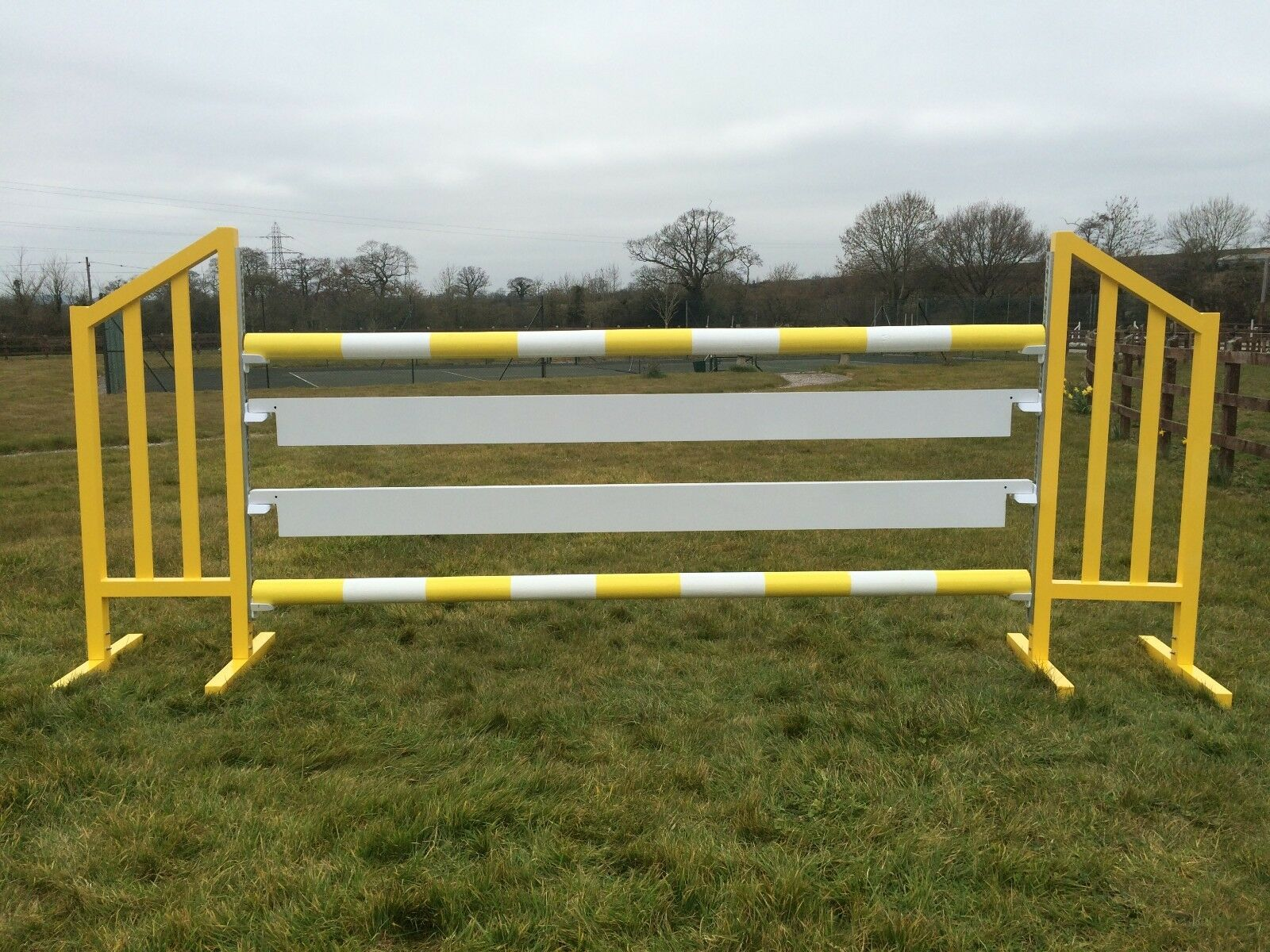 Aluminium - Show Jumping Plank - Aluminium for Showjumping to use with Showjumping cups 3m 44c664