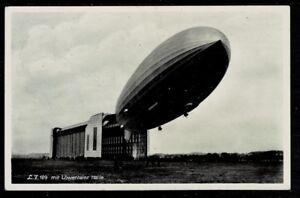 Fougueux Deutsches Reich Belle Sw-ak Avec Zeppelin Lz 129 Tourné, Avec à Côté De Tampon-afficher Le Titre D'origine