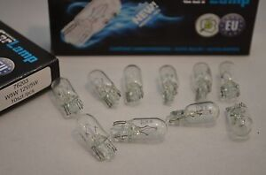 20x-W5W-Glassockelbirne-12V-5W-T10-Standlicht-Blinkerbirne-20-Stueck-W2-1x9-5d