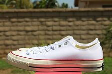CONVERSE CHUCK TAYLOR 70 OX SZ 9 OPTICAL WHITE RED BLUE 1970 ALL STAR 149448C