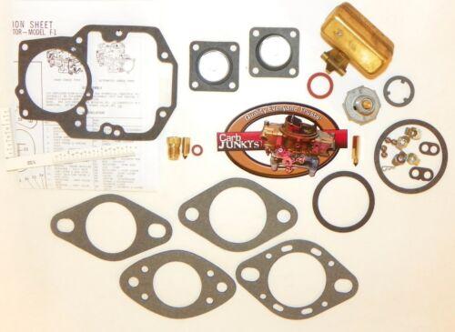 "Autolite 1100 63-69 Carb Kit Ford 1 B 1100 Series MUSTANG FORD 144-250/"" Float"