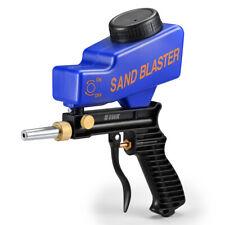 Portable Media Spot Sand Blaster Gun Hand Held Air Sandblaster Feed 2020 U7C5